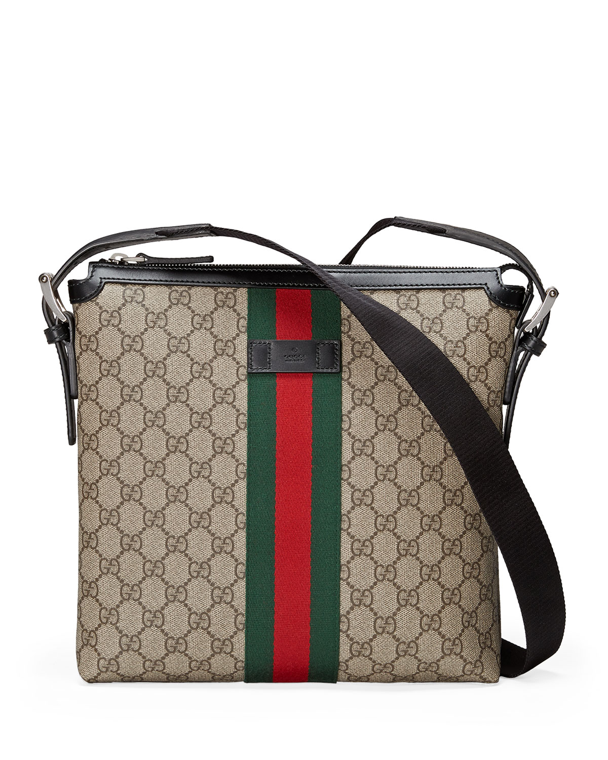 796289a8636 Gucci Web GG Supreme Messenger Bag