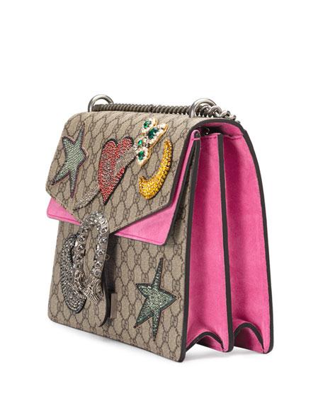 Dionysus Embroidered Shoulder Bag, Multi/Pink