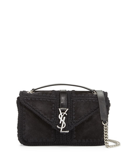 replica clutch bags - Monogram Leather Shoulder Bag | Neiman Marcus