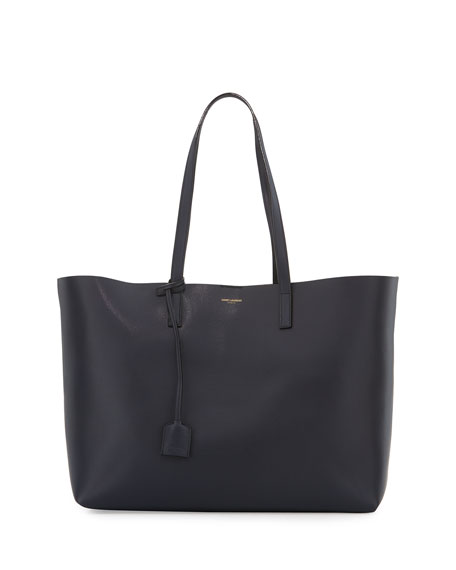 Large Shopping Tote Bag, Blue/Black