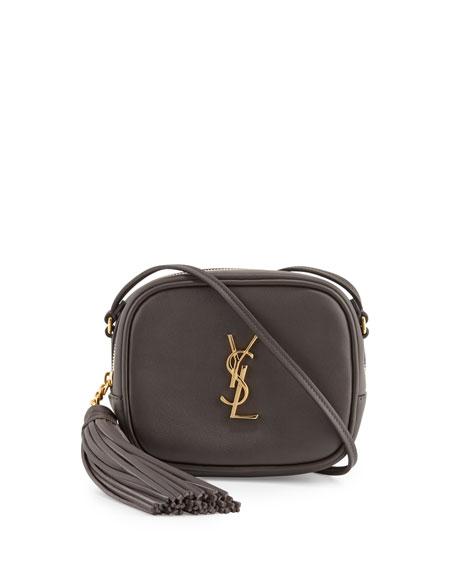 Monogram Blogger Crossbody Bag, Dark Gray
