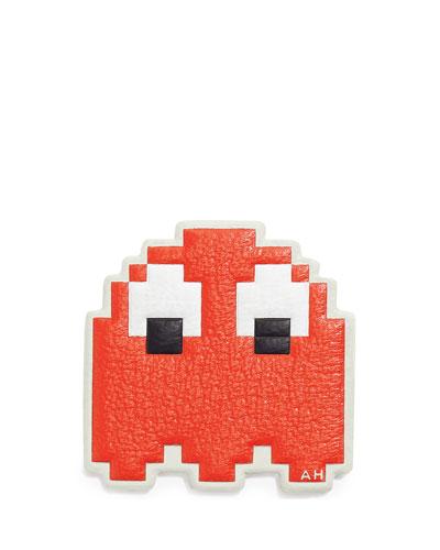 Ghost Sticker for Handbag, Red