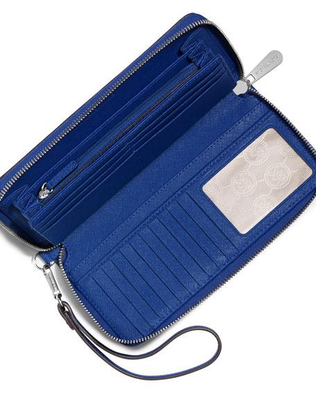 8a1ec12d1a2945 Michael Kors Wallet Electric Blue. MICHAEL Michael Kors Jet Set Travel  Continental ...