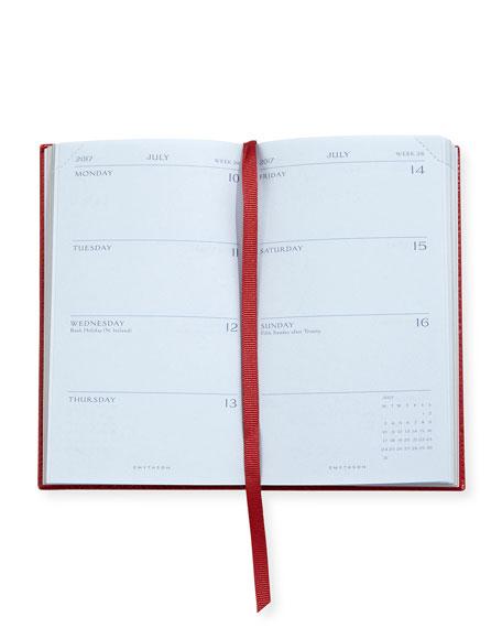 2017 Panama Diary/Agenda, Red