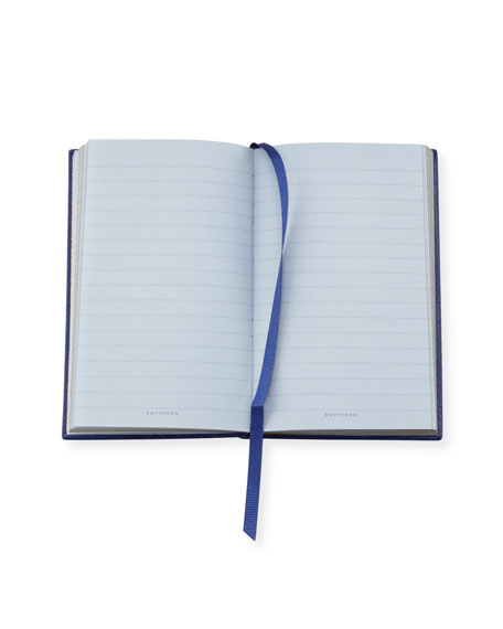 """Inspirations and Ideas"" Panama Notebook, Cobalt"