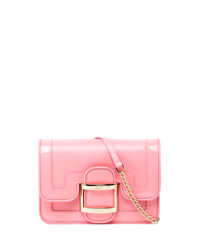 e33e76f2e7ef Roger Vivier Viv Micro Bordino Shoulder Bag
