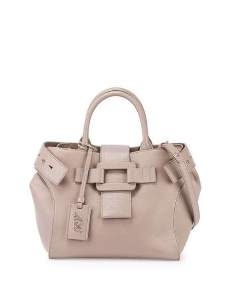 Pilgrim de Jour Small Shopping Tote Bag, Stone