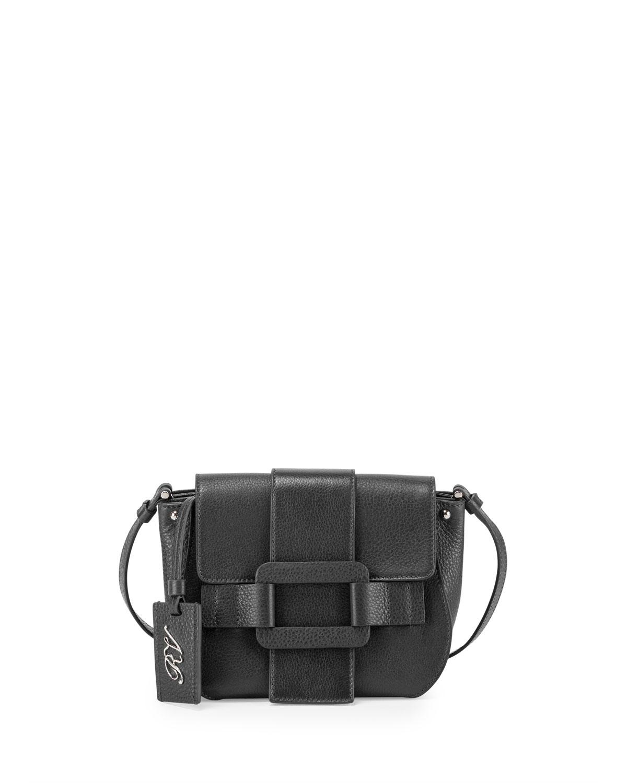Roger Vivier Pilgrim De Jour Leather Crossbody Bag 5da743504f0ac