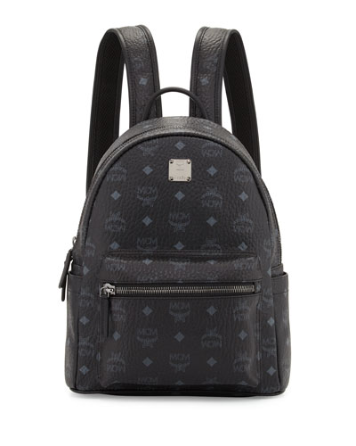 Stark Small No Stud Backpack, Black