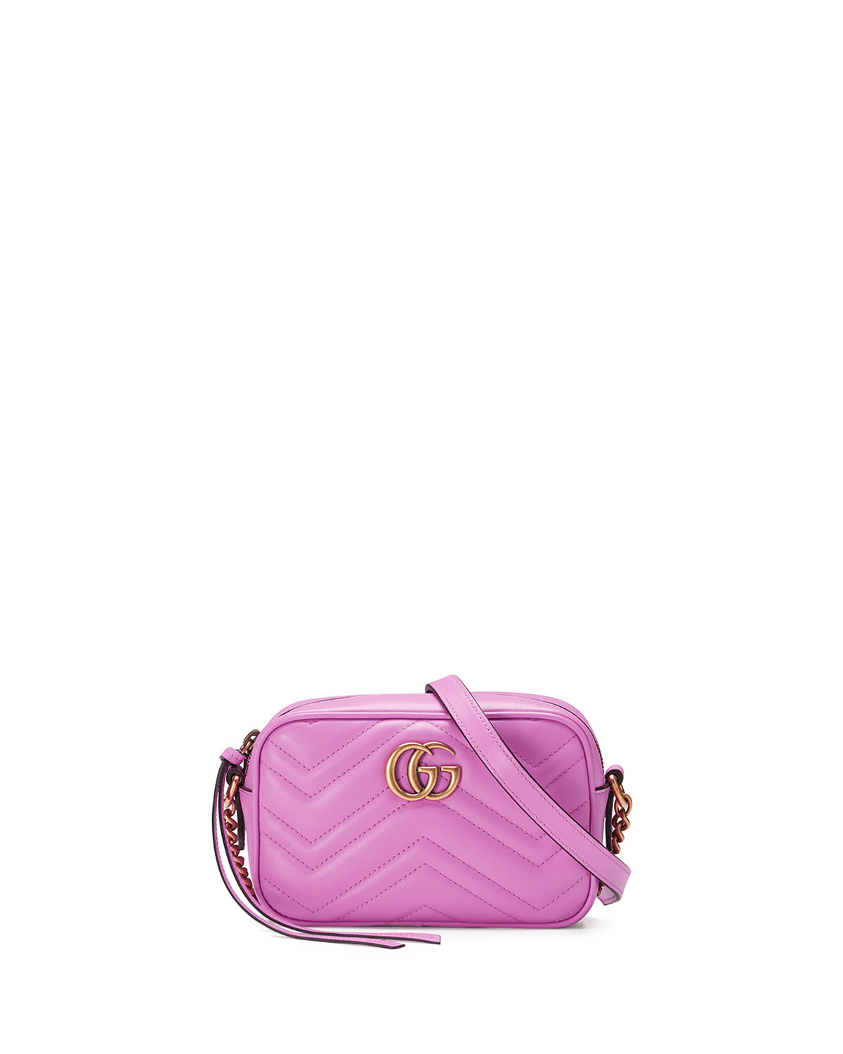 2ec1d6590d4 Gucci GG Marmont Mini Matelassé Camera Bag