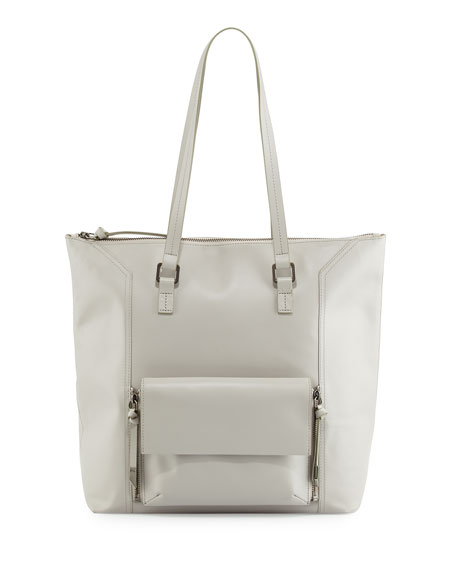Foley + Corinna Gemini Leather Tote Bag, Dove