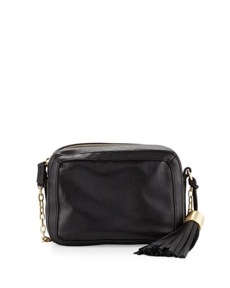 Foley + CorinnaTulie Leather Crossbody Bag, Black