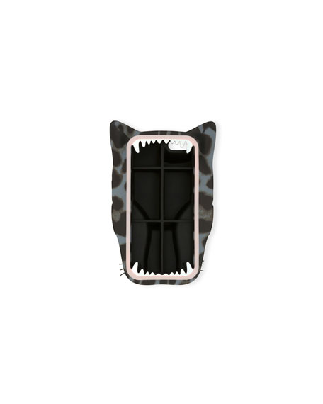 Image 2 of 2: Panther iPhone 6 Case, Leopard