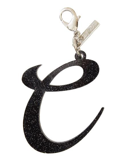 Edie ParkerAlphabet C Bag Charm, Starlight Silver