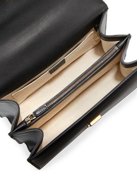Dionysus Small Top-Handle Satchel Bag, Black