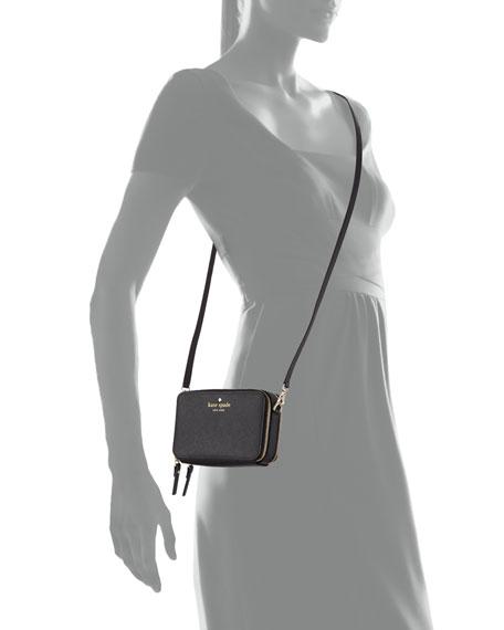 cedar street carine crossbody bag, black