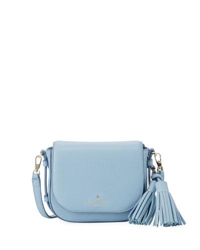 orchard street penelope small crossbody bag, gray skies