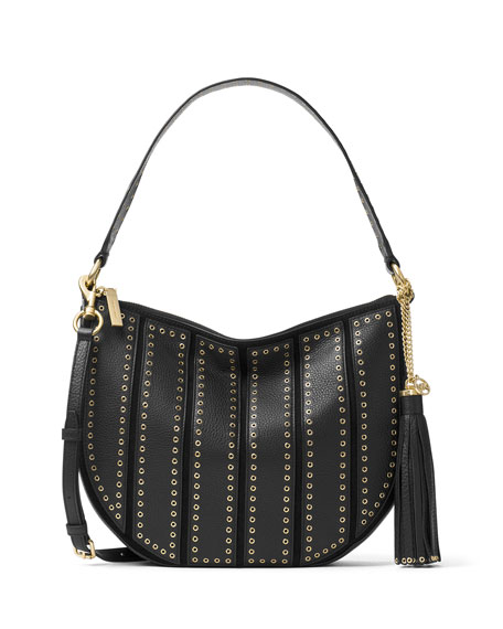 MICHAEL Michael Kors Brooklyn Medium Grommet Convertible Hobo Bag ...