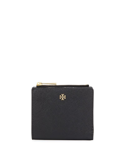 Robinson Leather Mini Wallet, Black