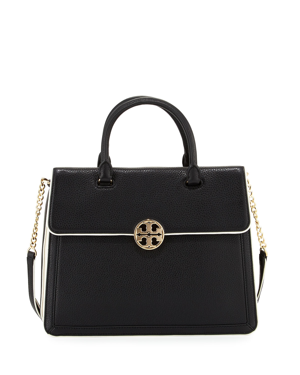 d028f721f5a Tory Burch Duet Chain Convertible Satchel Bag