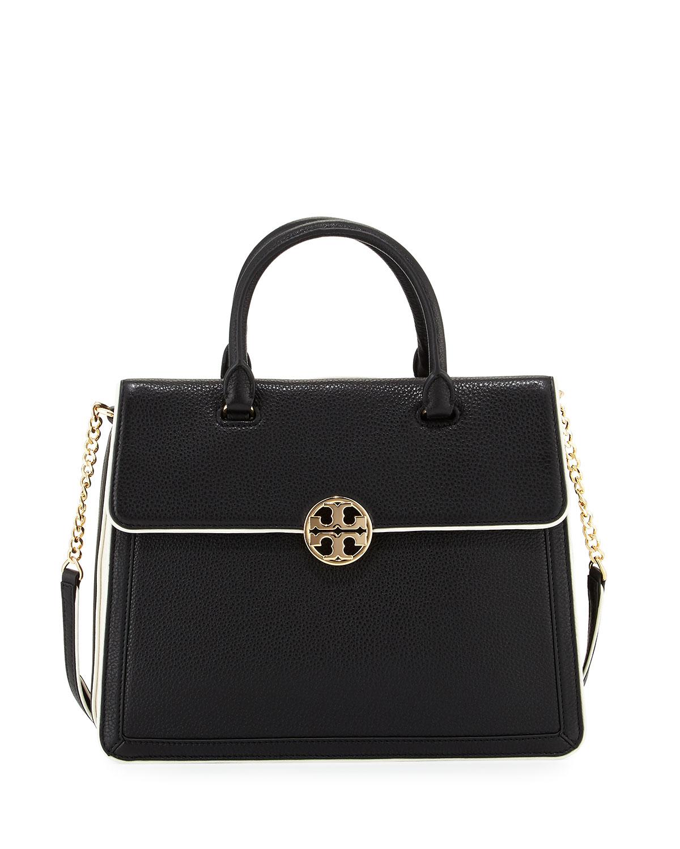 0828441c814 Tory Burch Duet Chain Convertible Satchel Bag