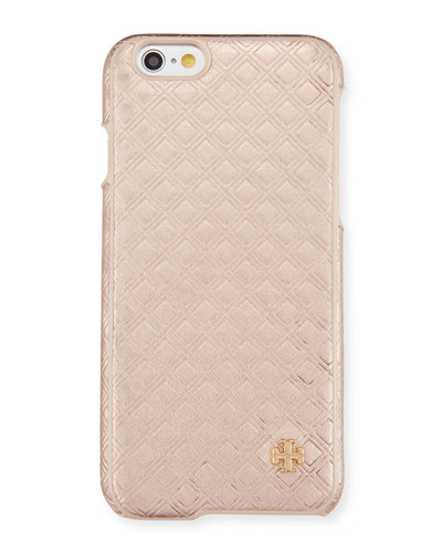 Embossed Metallic Hardshell iPhone® 6/6s Case, Rose Gold