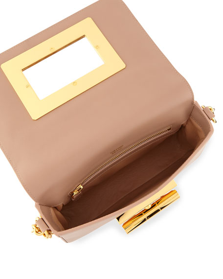 TOM FORD Natalia Medium Chain Crossbody Bag, Tuscany Pink