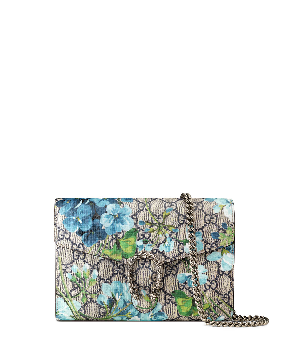 Gucci Dionysus Blooms-Print Mini Chain Bag e6ef2d1791702