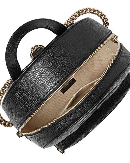 Gucci Soho Leather Chain Backpack 00f303ab2b823
