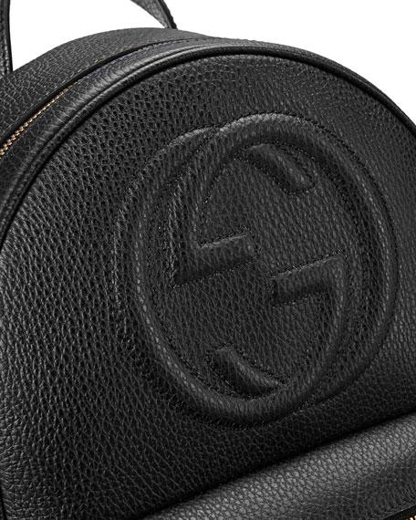 c49b56aea4 Gucci Soho Leather Chain Backpack