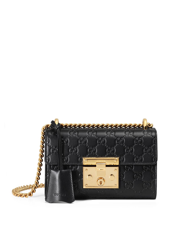 4779977c4c5 Gucci Padlock Gucci Signature Small Shoulder Bag