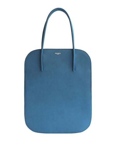 Irrisor Oval Medium Flat Tote Bag, Blue