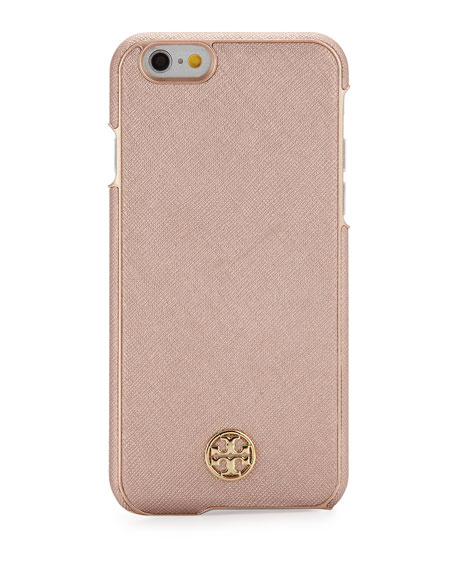 Robinson Saffiano Hardshell iPhone® 6/6s Case, Rose Gold