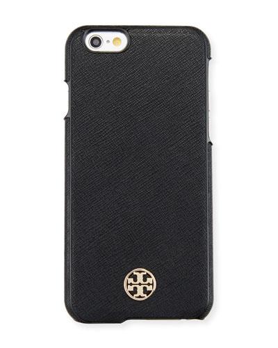 Robinson Saffiano Hardshell iPhone® 6/6s Case, Black