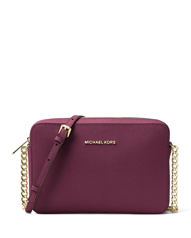 5f0236b820f3 MICHAEL Michael Kors Jet Set Travel Large Crossbody Bag
