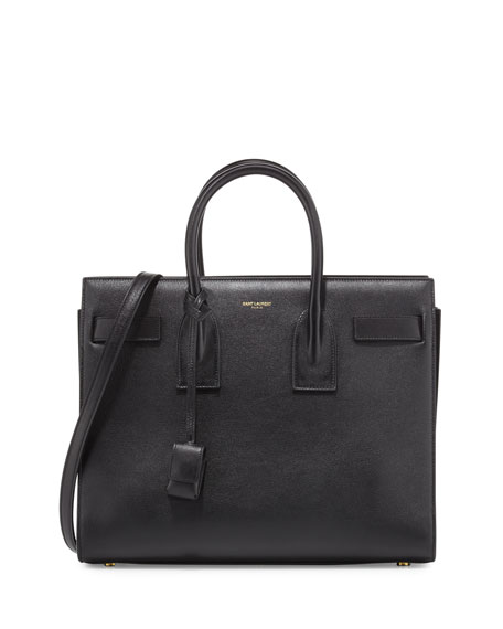 Saint Laurent Sac de Jour Small Leather Satchel