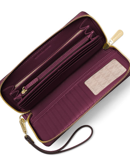 7961a8761e377 MICHAEL Michael Kors Jet Set Travel Continental Wallet