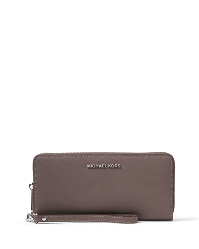 Jet Set Travel Continental Wallet, Cinder