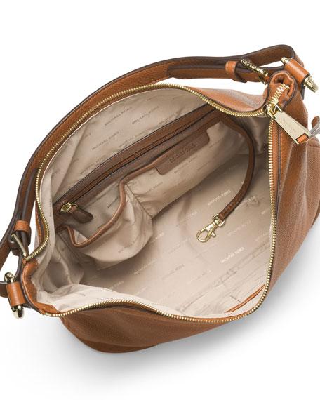 c261099b13df MICHAEL Michael Kors Lupita Large Leather Hobo Bag