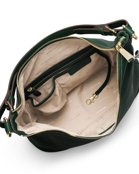MICHAEL Michael Kors Lupita Large Leather Hobo Bag 4d2679054c5a6