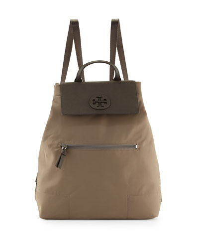 Ella Packable Backpack, French Gray