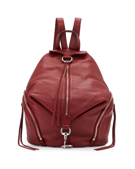 Julian Leather Backpack, Tawny Port