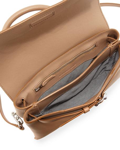 Attica Chain Crossbody Bag, Nude