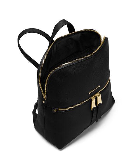 8dd939fc7 MICHAEL Michael Kors Rhea Medium Slim Leather Backpack | Neiman Marcus