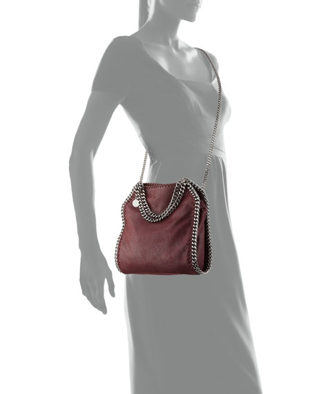 Falabella Mini Tote Bag, Plum