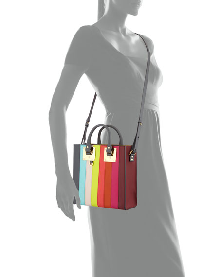 Albion Square Tote Bag, Rainbow