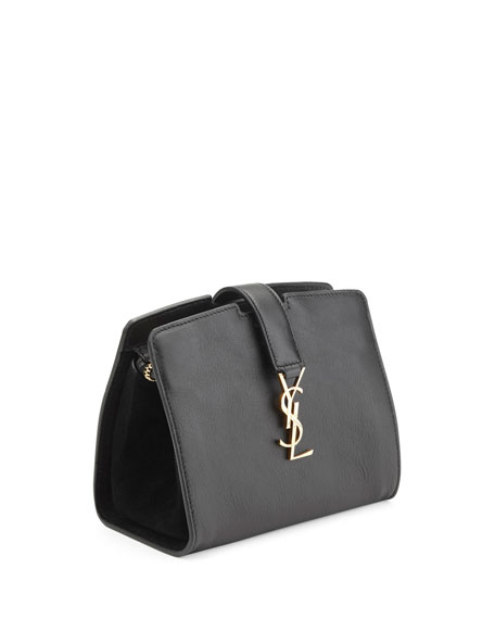 Monogram Cabas Mini Crossbody Bag, Black