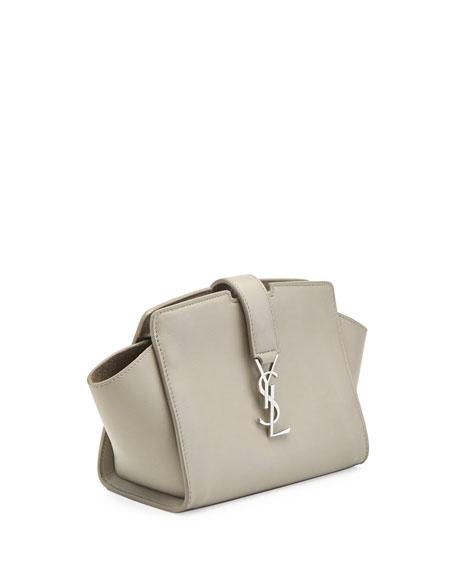 Monogram Cabas Mini Crossbody Bag, Gray