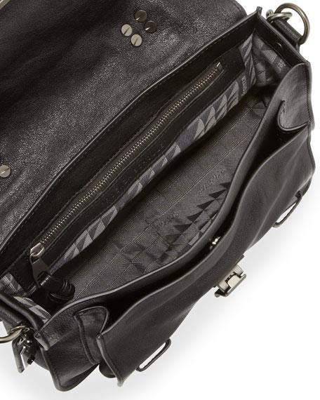 PS1 Tiny Crossbody Satchel Bag, Black