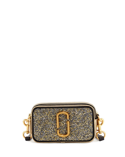 Snapshot Double Take Small Camera Bag, Antique Gold